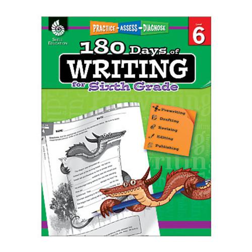 Shell Education 180 Days Of Writing Workbook, Grade 5