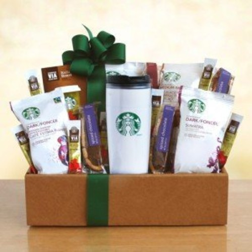 Starbucks On the Go Coffee Gift Basket