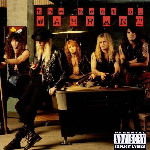 Best Of Warrant (Explicit Version) CD (1996)