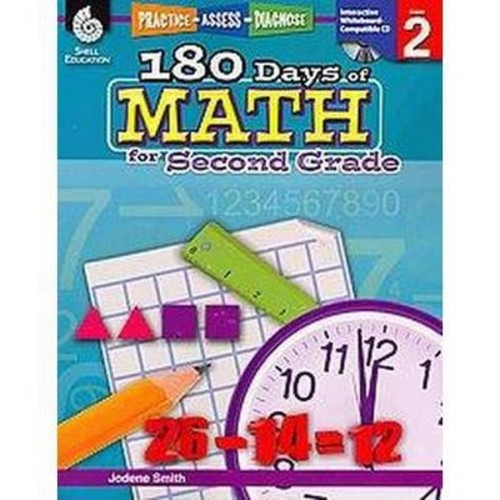180 Days of Math for Second Grade (Paperback) (Jodene Smith)