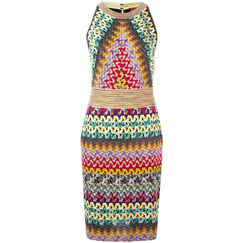 MISSONI Knitted Fitted Dress