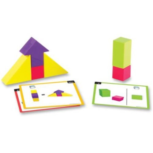 Learning Resources Mental Blox Point Of View Game - Skill Learning: Critical Thinking, Problem Solving, Spatial Visual Skill (lrn-9284)