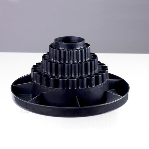 Studio Designs Black Tabletop Desk Carousel