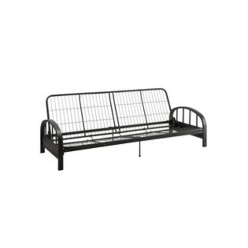 Dorel Dhp Aiden Futon Frame, Black