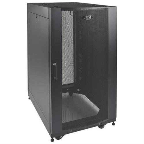 Tripp Lite 25U Rack Enclosure Server Networking Cabinet Shallow Depth - 25U Wide x 27