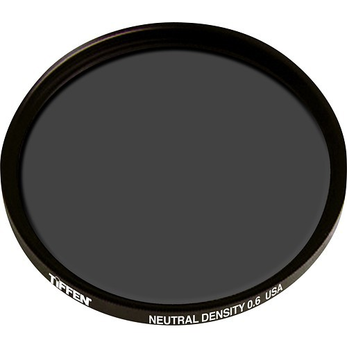 Tiffen - 77mm Neutral-Density 0.6 Lens Filter - Black