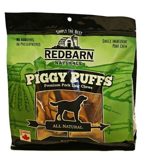Redbarn Naturals Piggy Puffs Dog Treat - Pork