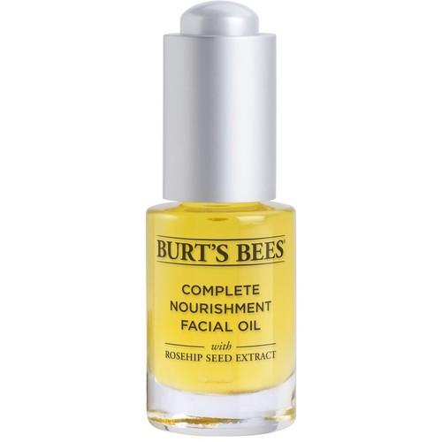 Burt's Bees Complete Nourishment Facial Oil -- 0.51 fl oz