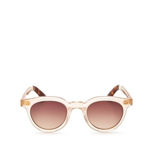 Fin Round Sunglasses, 47mm