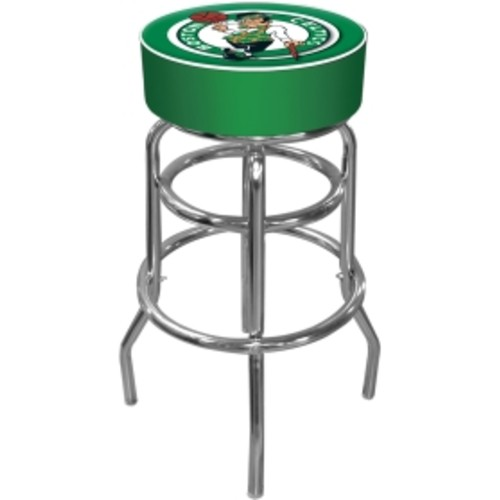 Trademark Games Boston Celtics Padded Bar Stool