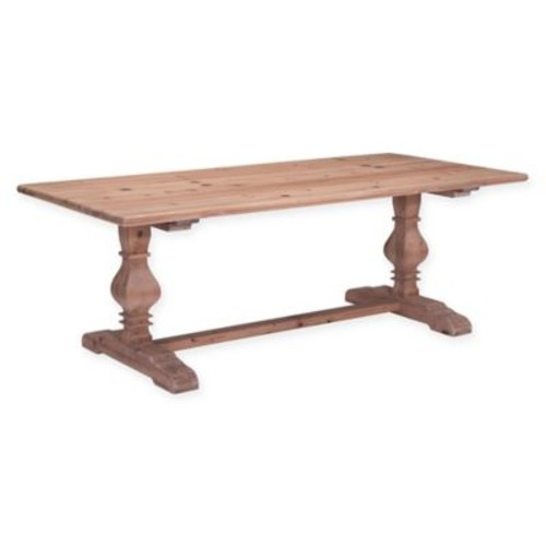 Zuo Norfolk Dining Table in Natural Fir