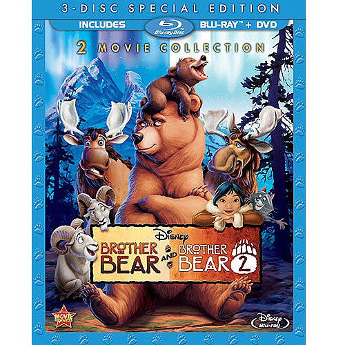 Brother Bear 2 Movie Collection (Blu-ray + DVD)