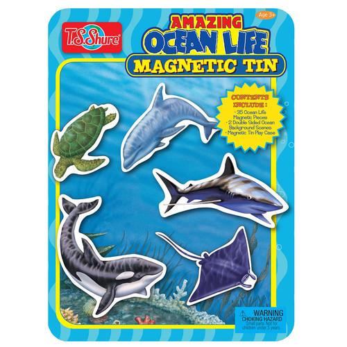TS Shure Ocean Life Magnetic Tin Playset