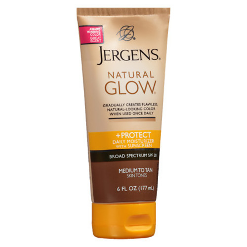 Jergens Natural Glow & Protect Daily Moisturizer SPF 20 Medium to Tan Medium to Tan