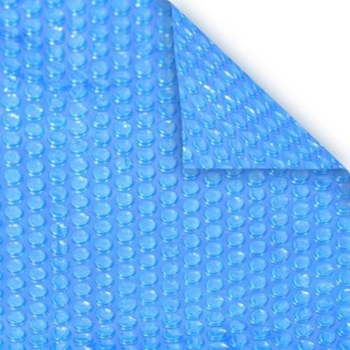 Blue Wave 15 ft. x 30 ft. Oval 12-mil Solar Blanket for Above Ground Pools - Clear