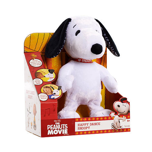 Peanuts Happy Dance Snoopy Feature Plush