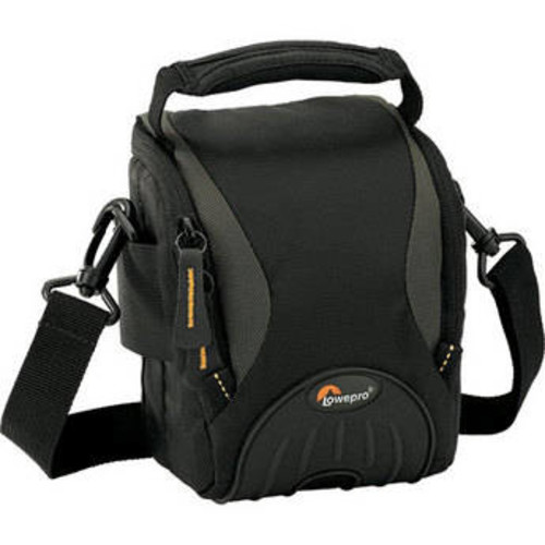 Apex 100 AW Shoulder Bag - for Pro-Compact Digital Camera or Digital SLR, plus Accessories (Black)