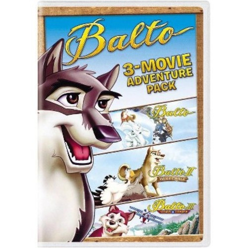 Balto: 3-Movie Family Fun Pack