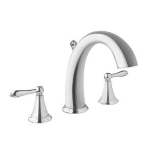 Fontaine Montbeliard 8 in. Widespread 2-Handle Mid-Arc Bathroom Faucet in Chrome