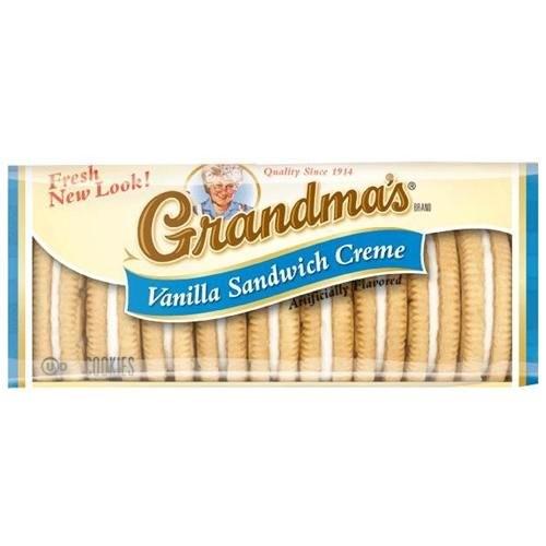 Grandma's Vanilla Creme Cookies, 2.75 Oz Bags 24pk