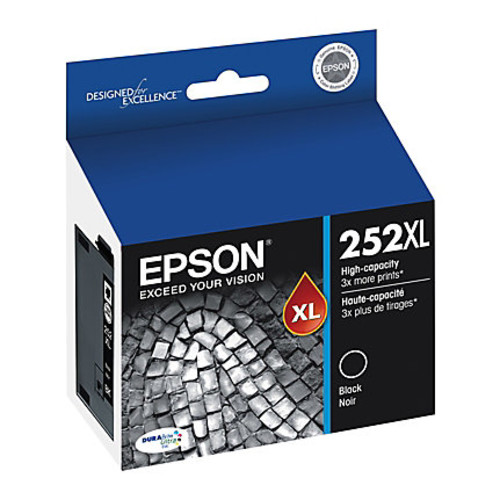Epson DuraBrite Ultra T252XL120-S High-Yield Black Ink Cartridge