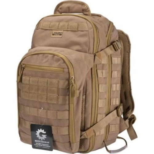 BARSKA Loaded Gear GX-600 Large Flat 19.69 in. Dark Earth Ballistic Nylon Crossover Backpack