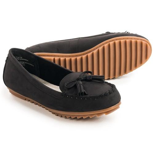 Cliffs by White Mountain Samanda Moc Shoes - Vegan Leather (For Women) [width: M]