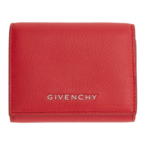 GIVENCHY Red Pandora Trifold Wallet