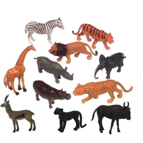Get Ready Kids Zoo Wild Animal Playset