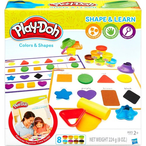 Hasbro - Play-Doh Shape and Learn: Colors and Shapes