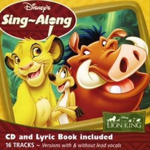Disney's Sing-A-Long: The Lion King [CD]
