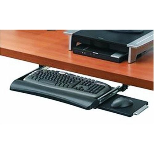 Fellowes Office Suites Underdesk Keyboard Drawer, Black/Silver (9140303)