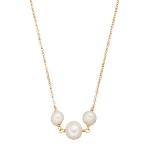 Sterling Silver Freshwater Cultured Pearl Choker Necklace