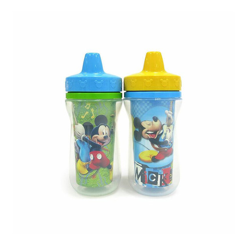 Disney Mickey Mouse 2-pk. Insulated Sippy Cups