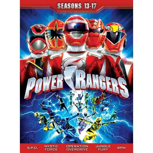 Power Rangers: Seasons 13-17 [22 Discs] [DVD]