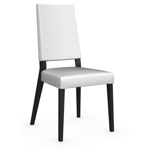 Sandy Chair [Frame Finish\/Fabric Type and color : P128 Wenge Beech Wood\/ S92 Optic White Skuba]