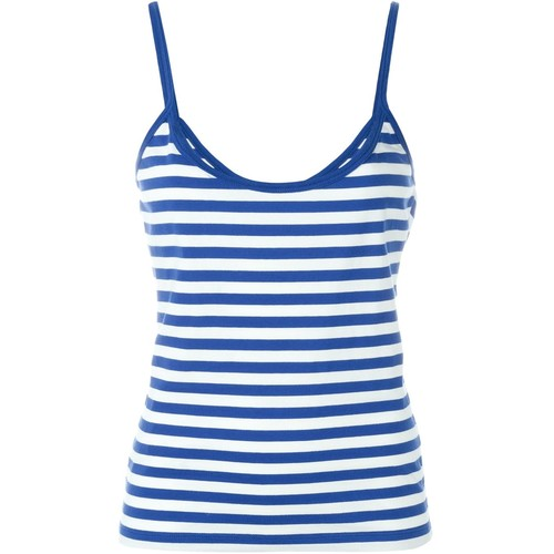 SAINT LAURENT Breton Cami Top