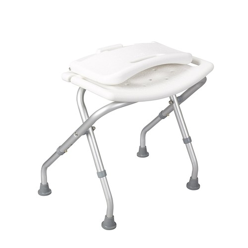 Drive Medical Folding Bath Bench with Backrest [Bath Bench with Backrest]