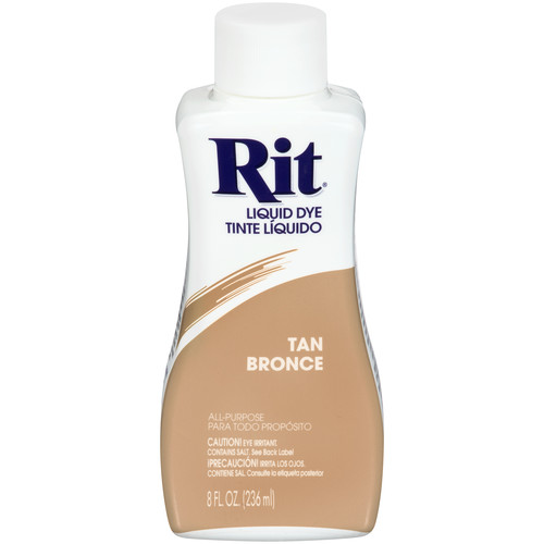 Rit Liquid Dye Tan 8 fl oz