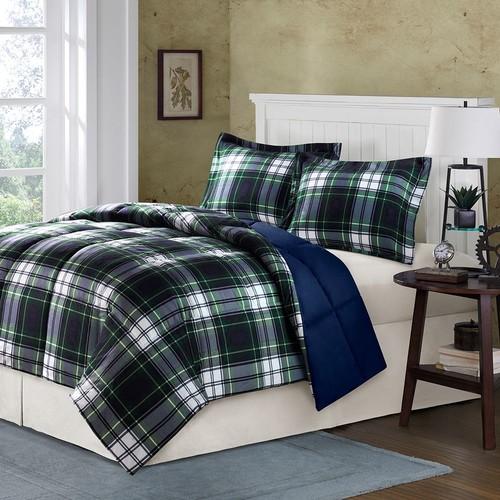 Comfort Classics Parkston Reversible Down-Alternative Comforter Set