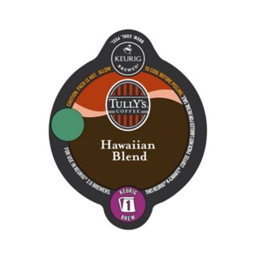 Keurig K-Carafe Pack 8-Count Tully's Hawaiian Blend Medium Roast Coffee
