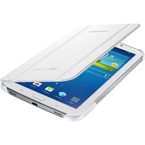 Samsung - Book Cover for Galaxy Tab A 7 - White