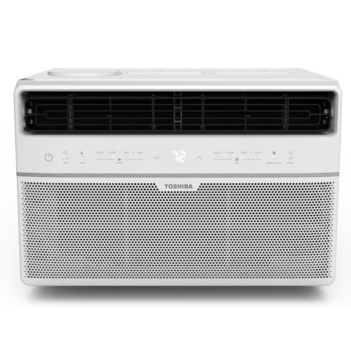 Toshiba 8,000 BTU 115-Volt Smart Wi-Fi Window Air Conditioner with Remote and ENERGY STAR