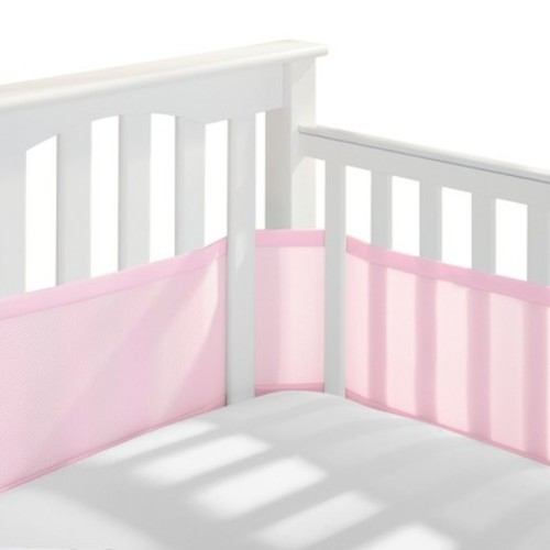 BreathableBaby Breathable Mesh Crib Liner, Brown (Discontinued by Manufacturer)