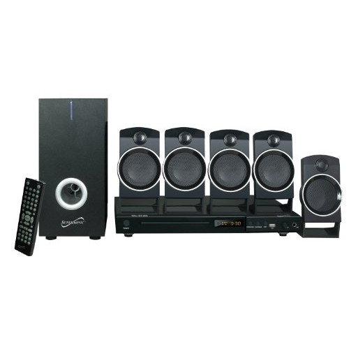 Supersonic SC37HT 5.1 Channel DVD Home Theater System [16.30in. x 11.80in. x 10.80in.]
