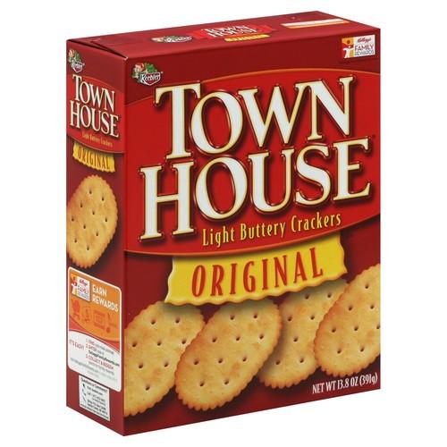 Town House Crackers, Light Buttery, Original 13.8 oz (391 g)