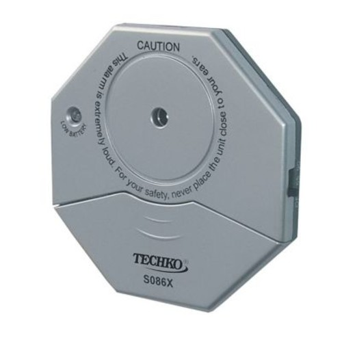 Techko Ultra Slim Vibration Entry Alarm (SO86X)