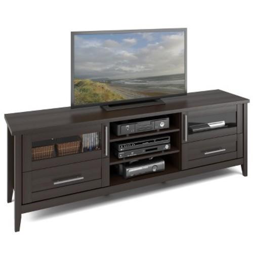 Jackson Extra Wide TV Bench Espresso 80