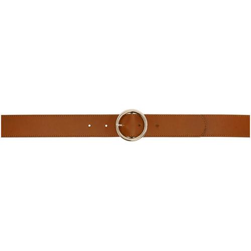 A.P.C. Brown Fidji Belt