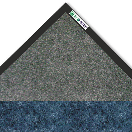 Crown Mats & Matting EcoStep Vinyl Floor Mat, 3' x 5', Blue (CWNET0035MB)